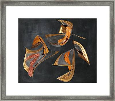 Guitar Music Framed Print by Stephanie Grant