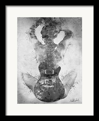 Rock And Roll Art Framed Prints