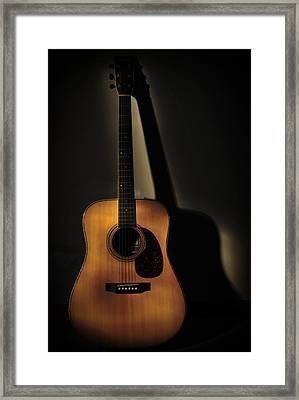 Guitar Framed Print by Terry DeLuco