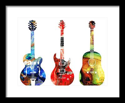 Rock And Roll Framed Prints