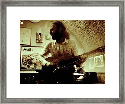 Guitar Western Art Framed Print by Free Press