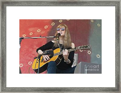 Guitarist Rory Block Framed Print