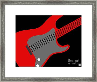 Guitarpop I Framed Print