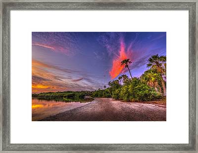 Gulf Breezes Framed Print by Marvin Spates