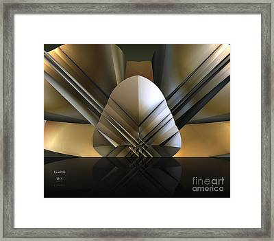 Gulf Coast Fan Framed Print