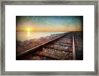 Gulf Coast Railroad Framed Print
