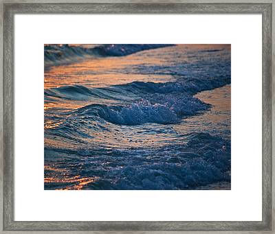 Gulf Coast Surf Wat 153 Framed Print