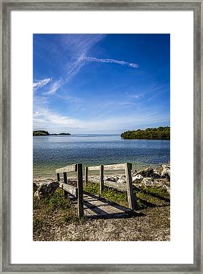 Gulf Gateway Framed Print by Marvin Spates