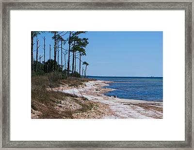 Gulf Island National Seashore 2 Framed Print