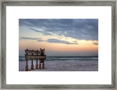 Gulf Islands National Seashore Framed Print