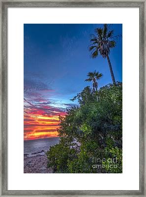 Gulf Mirror Framed Print