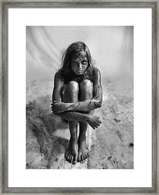 Gulf Oil Spill Of 2010 Awareness Project- Amy Framed Print