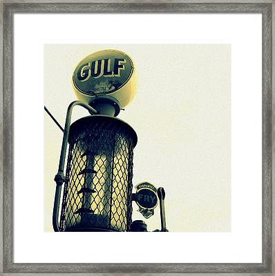 Gulf Framed Print
