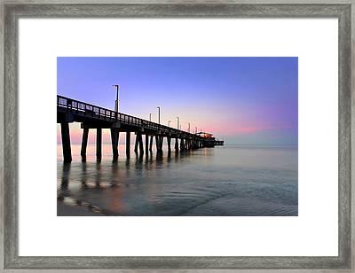 Gulf State Park Pier Framed Print