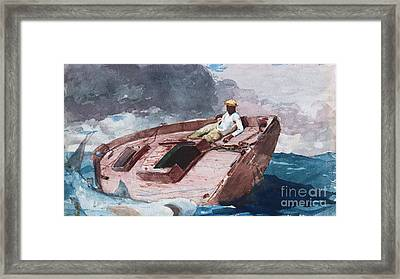 Gulf Stream 2 Framed Print by Pg Reproductions