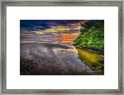 Gulf Stream Framed Print by Marvin Spates