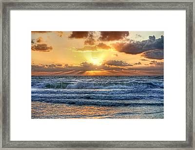Gulf Waters Framed Print