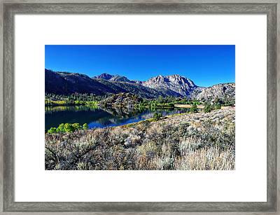 Gull Lake Fall Morning Framed Print by Scott McGuire