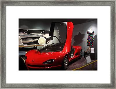 Gull Wing Corvette Framed Print