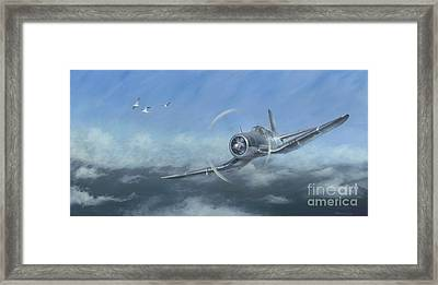 Gull Wings Framed Print by Stephen Roberson