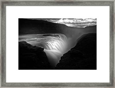 Gullfoss Framed Print