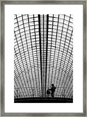 Gum Moscow Framed Print