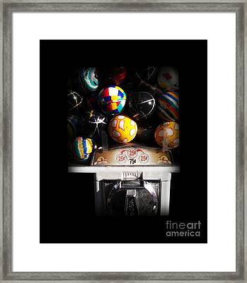 Series - Gumball Memories 1 - Iconic New York City Framed Print by Miriam Danar