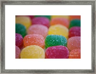 Gumdrops Framed Print by Kim Fearheiley