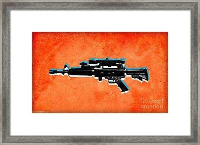 Gun 2 Framed Print by Mark Ashkenazi