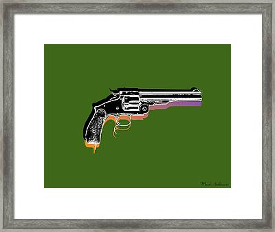 Gun 3 Framed Print by Mark Ashkenazi