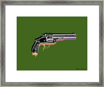 Gun 3 Framed Print by Mark Ashkenazi
