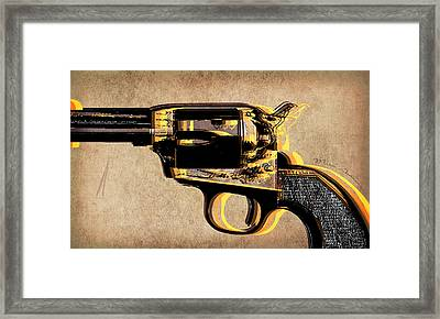 Gun 4 Framed Print by Mark Ashkenazi