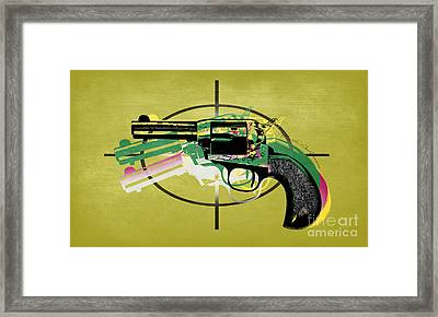 Gun 5 Framed Print by Mark Ashkenazi