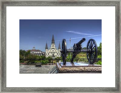 Gun General And God Framed Print by Greg and Chrystal Mimbs