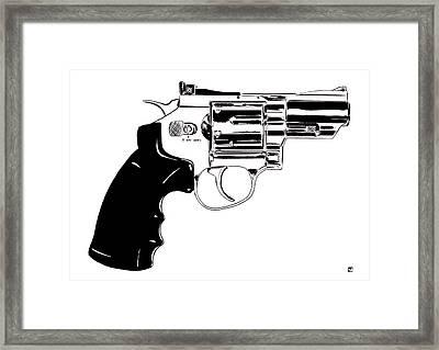 Gun Number 27 Framed Print by Giuseppe Cristiano