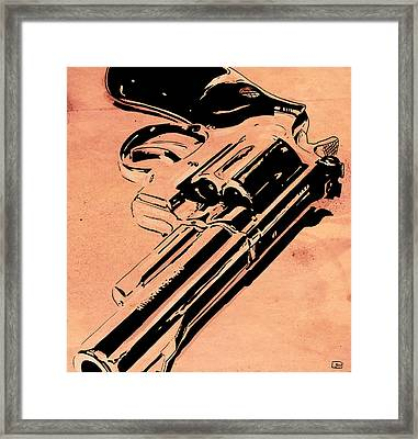 Gun Number 6 Framed Print