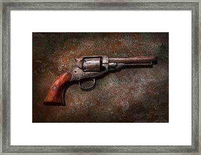 Gun - Police - Dance For Me Framed Print by Mike Savad