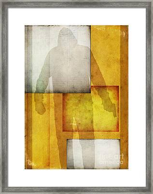 Gunman Framed Print by Edward Fielding