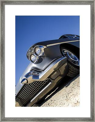 Gunn Metal - Metal And Speed Framed Print by Holly Martin