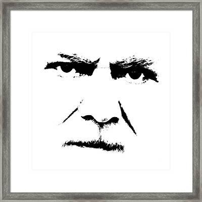 Gunnar Hansen Framed Print