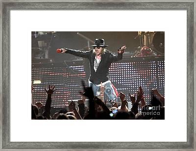 Guns N' Roses Framed Print by Concert Photos