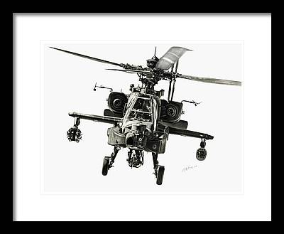 Helicopter Framed Prints