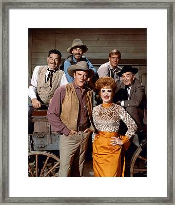 Gunsmoke  Framed Print