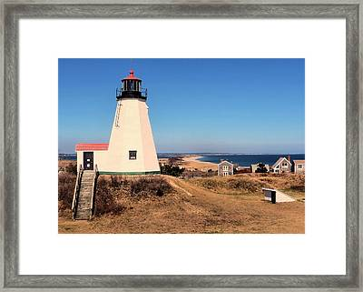 Gurnet Lighthouse Framed Print