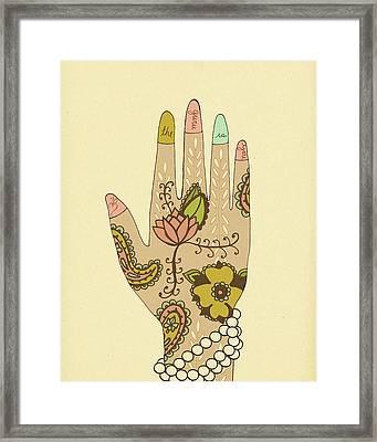Guru Framed Print by Lisa Barbero
