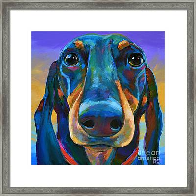 Gus Framed Print by Robert Phelps