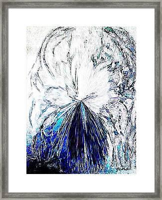 Gush Framed Print