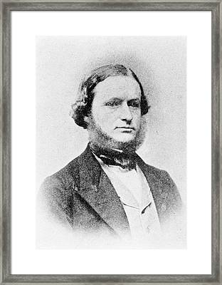 Gustav Kirchhoff Framed Print