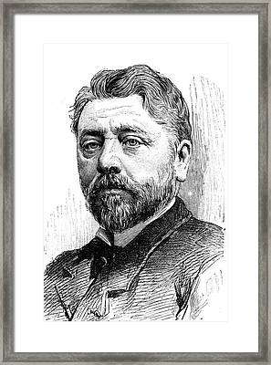 Gustave Eiffel Framed Print by Collection Abecasis