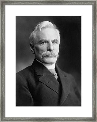 Gustavus Michaelis Framed Print by Williams Haynes Portrait Collection, Chemists� Club Archives, Chemical Heritage Foundation